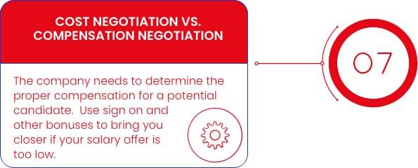 Compensation Negotiations